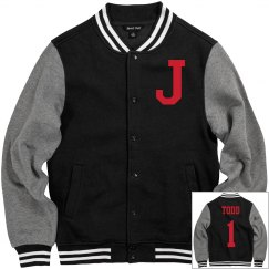 Personalized Men's Letter Jacket