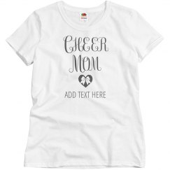 Proud Cheer Mom Tee