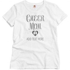 Custom Cheer Mom Tee