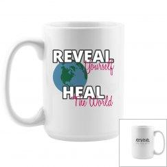 REVEAL Yourself Big World Mug