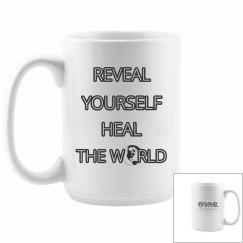 REVEAL Yourself Small World Mug