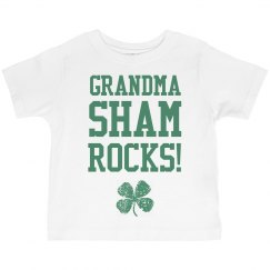 Grandma Shamrocks St Patrick Kid