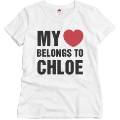 My heart belongs to Chloe