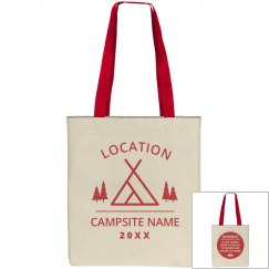 Camping And Exploring Tote