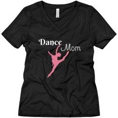 Dance Mom Rhinestone Tee