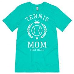 Proud Tennis Mom Custom Tee