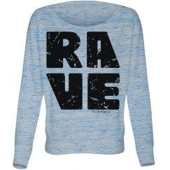 Red Black Rave Grunge