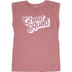 Metallic Cheer Squad Bling Tee