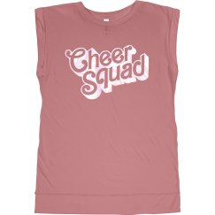 Metallic Cheer Squad Bling Tee