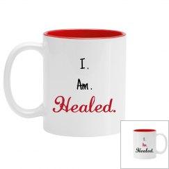 I.Am.Healed. Mug