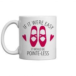 Pointe-less Dancer Mug