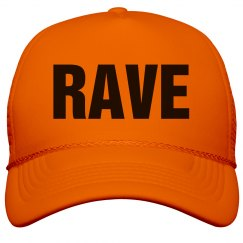 Rave Neon Orange Hat