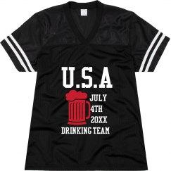 USA Drinking Team Jersey