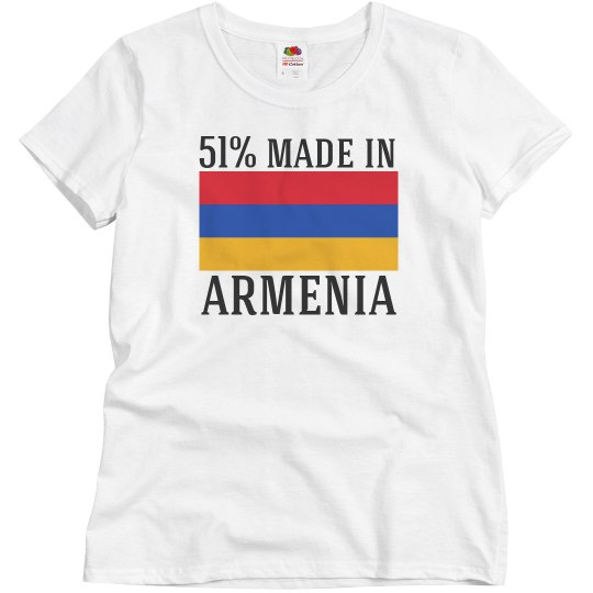51% made in Armenia