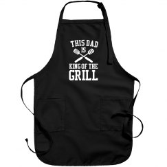 This Dad Is King Of The Grill
