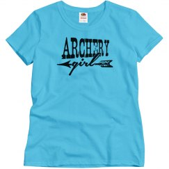 Archery Girl Shirts