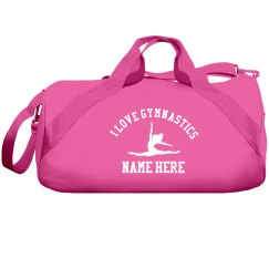 I love gymnastics bag