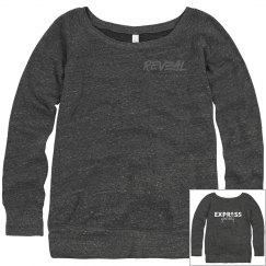 EXPRESS Yourself Wide Neck Slouchy Sweatshirt