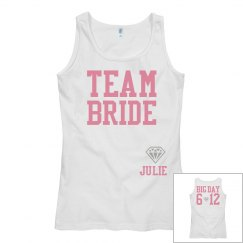 Team Bride's Bachelorette