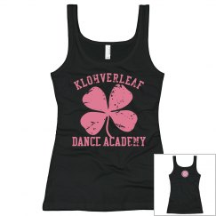 Women's Tank in black with logo on the back