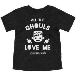 Ghouls Love Me Halloween Toddler