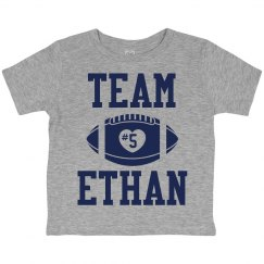 Custom Name Football Fan Tee