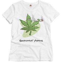 Swamprat Farms woman's T-shirt