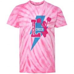 Girls Pink Tye Dye Cheer