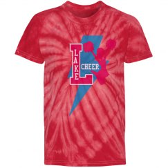 Girls Pink Tye Dye Cheer