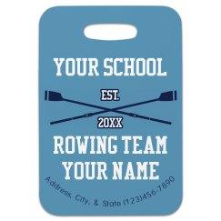 Rowing Bag Tag