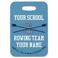 Rowing Bag Tag