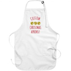 Customizable Christmas Aprons