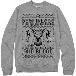 House Targaryen Fire And Blood