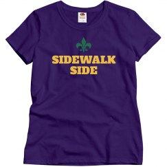 Sidewalk Side Mardi Gras