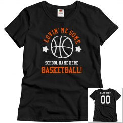 Lovin' Custom Basketball Tee