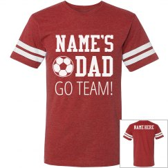 Custom Proud Soccer Dad
