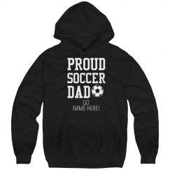 Proud Soccer Dad Hoodie