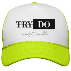 Try/Do Trucker Hat