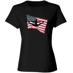 Split For The USA Tee Shirt