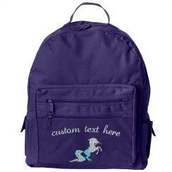 Custom Glitter Text Unicorn Pack