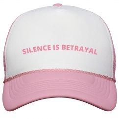 SILENCE IS BETRAYAL