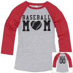 You Can Design Baseball Mom Shirts!