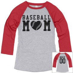 You Can Design Baseball Mom Shirts!