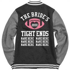 Football Bachelorette Bridesmaids Keepsake Coat