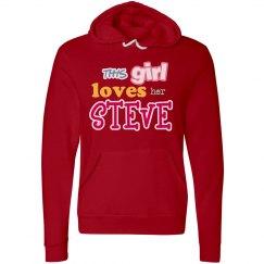 This girl loves Steve!