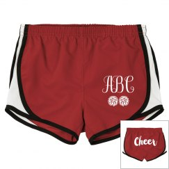 Monogram Cheer Shorts