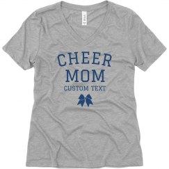 Personalized Cheer Mom Boyfriend Tee