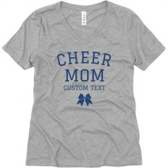 Personalized Cheer Mom Boyfriend Tee