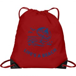 Life's a Beach Cinch Sak2