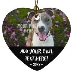 Create A Custom Pet Ornament!